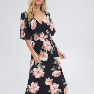 !! SALE !! Floral Maxi Dress Sizes S, M and L